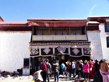 Johkang Temple Entrance