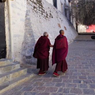 Monastery monks
