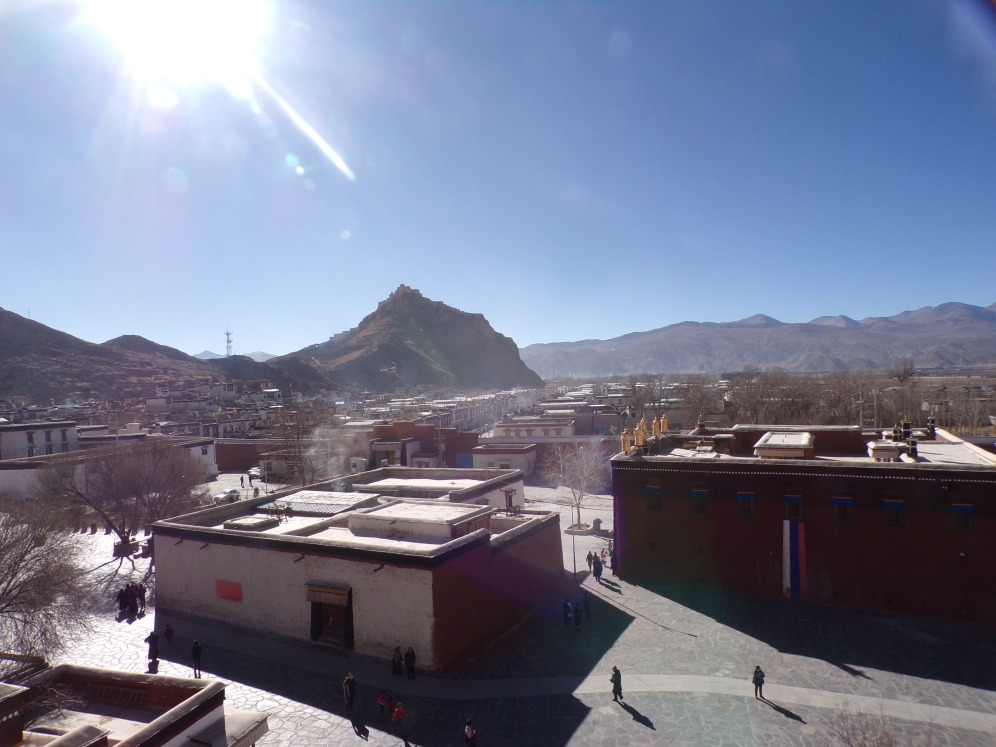 View of Gyantse