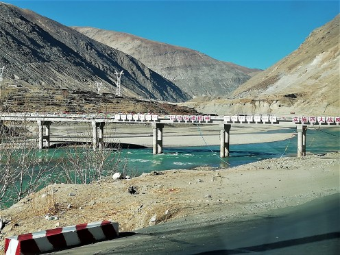Bridge over the Brahmaputra