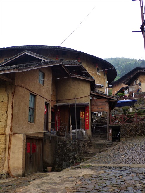 Inside the Tulou village