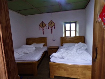 A Tulou guest room