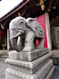 Gorgeous carved elephant