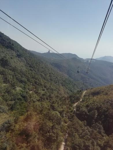 Up the gondola lift