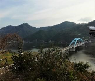 A bridge nearby