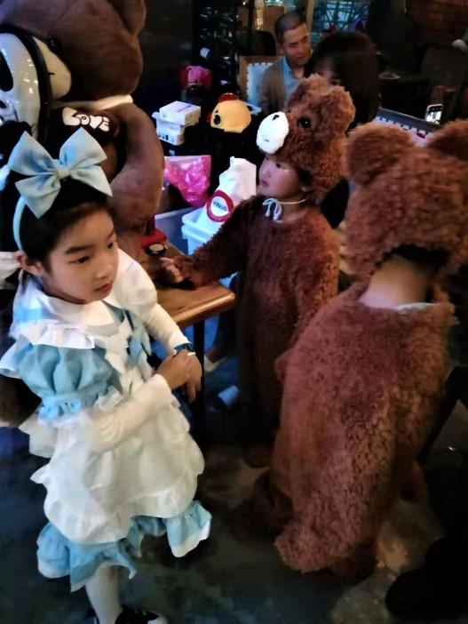 Their take on Goldilocks and the Three Bears
