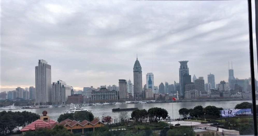 Cool view of the Bund