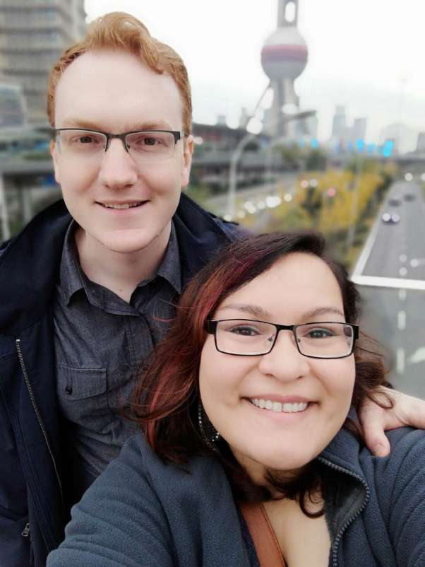 Selfie by the Pearl Tower